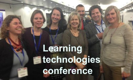 Inspiration from the Learning Technologies Conference
