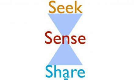 Manage jouw kennis:  Zoeken + Waarde toevoegen + Delen = Leren