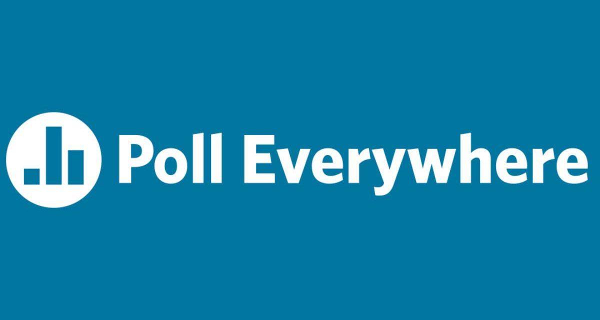 Vragen voorleggen aan groep: Polleverywhere