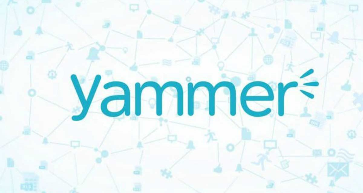 Yammer for internal knowledge sharing