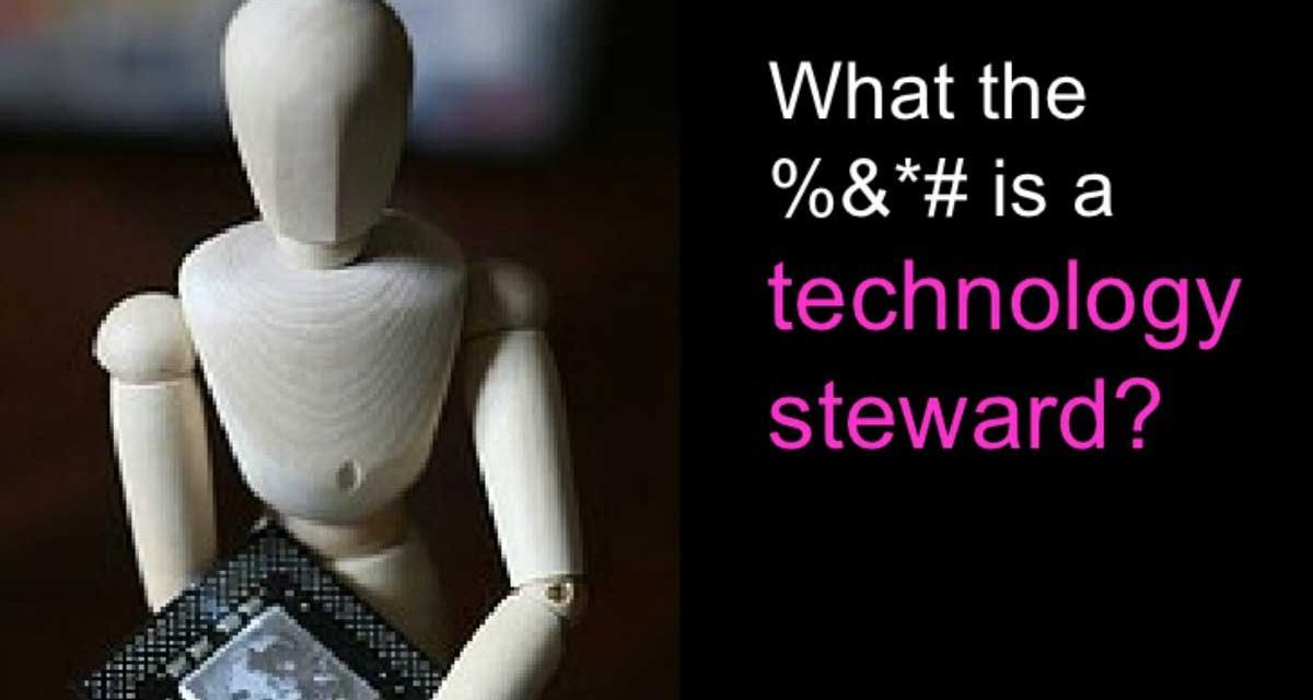 Technology steward: belangrijke rol in online communities