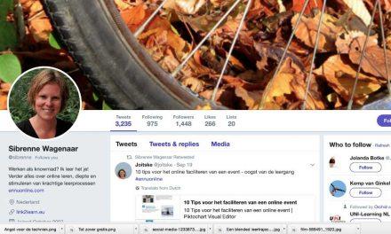 Twitteren op de achtergrond