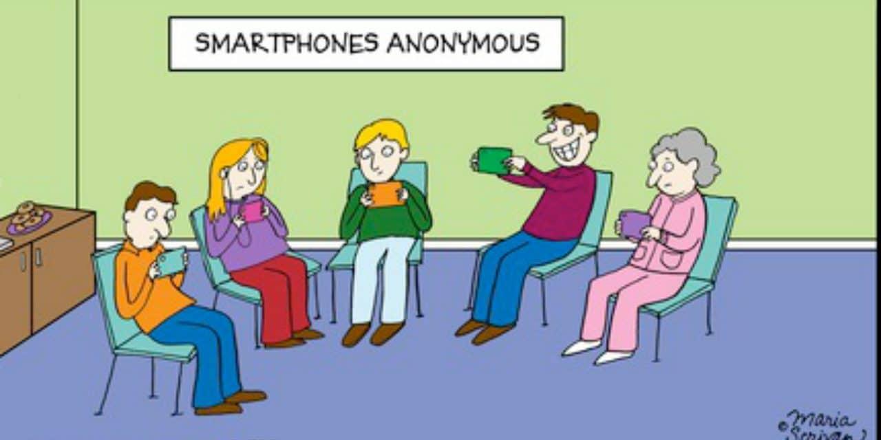 Uitputting door smartphone gebruik: pas op met micro-learning en app groepen