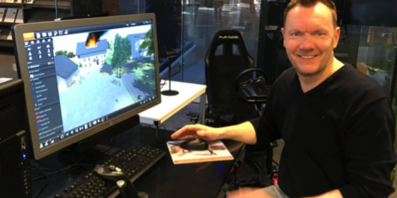 Pioniers met Virtual en Augmented reality bij de politie academie