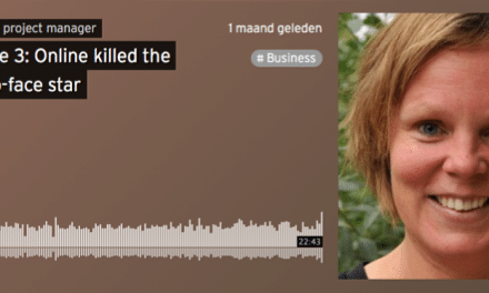 Mijn eerste podcast: online killed the face-to-face star